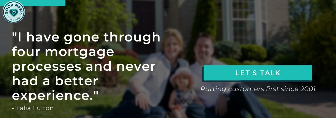 Talia Fulton Testimonial for Good News Lending